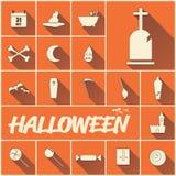 Halloween-Sommerikone Stockbild