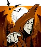 Halloween sorcerer Royalty Free Stock Photo