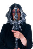 Halloween sorcerer Stock Photography