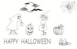 Halloween-Spaß Lizenzfreie Stockbilder