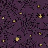 Halloween-Spaß und gespenstisches Muster Lizenzfreies Stockbild