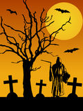 Halloween spaventoso Immagine Stock