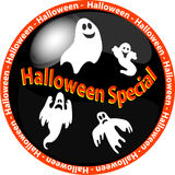 Halloween special button Stock Images