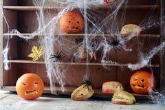 Halloween-Speiseschrank Stockbild