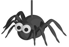 Halloween Spider Stock Photography