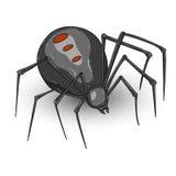 Halloween spider hand-drawn illustration Royalty Free Stock Image