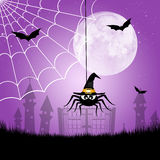 Halloween spider. Illustration of spider for Halloween Royalty Free Stock Photos
