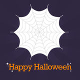 Halloween Spider Web Background Royalty Free Stock Photos
