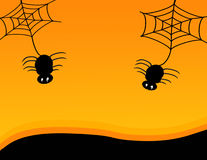 Halloween Spiders Royalty Free Stock Images