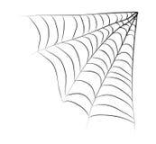 Halloween spiderweb vector symbol icon design. Stock Photography