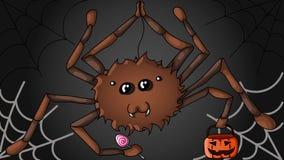 Halloween-Spin royalty-vrije illustratie