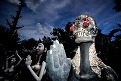 Halloween-spook Thailand Royalty-vrije Stock Afbeelding