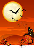 Halloween Spooky Background Royalty Free Stock Photography