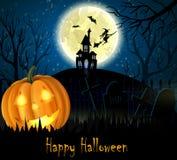 Halloween spooky background Royalty Free Stock Photo