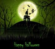 Halloween spooky background Royalty Free Stock Photos