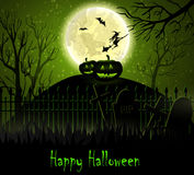 Halloween spooky background Royalty Free Stock Photos
