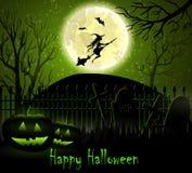 Halloween spooky background Stock Image