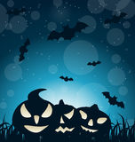 Halloween Spooky Dark Background Royalty Free Stock Image