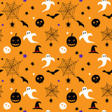 Halloween spooky pattern stock images