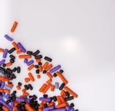 Halloween Sprinkles Stock Image