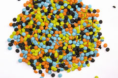 Halloween Sprinkles Stock Photo