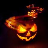 Halloween-Spuren Lizenzfreie Stockbilder
