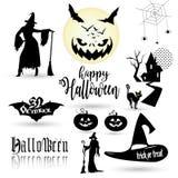 Halloween ssimbols Stock Foto's