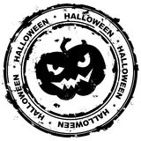 Halloween stämpel. Royaltyfri Bild