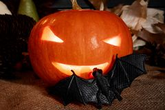 halloween stålar arkivbild
