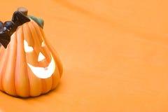 halloween stålarlykta o Royaltyfri Fotografi