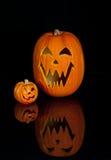 halloween stålarlykta o fotografering för bildbyråer