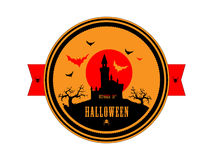 Halloween. Stamp. Icon. The design element. Royalty Free Stock Images