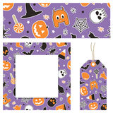 Halloween stationery Royalty Free Stock Photo
