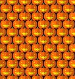 Halloween-Steckfassung-Olaternenkürbis-Kopfmuster Stock Abbildung