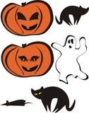 Halloween stellte 2 ein Lizenzfreie Stockfotos