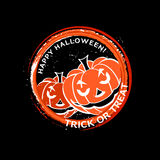 Halloween-Stempel Stockfotos