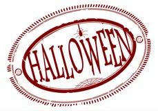 Halloween-Stempel stock abbildung