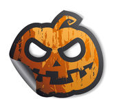 Halloween sticker. Royalty Free Stock Photos