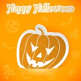 Halloween sticker Stock Photos