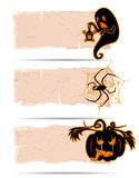 Halloween sticker vector Royalty Free Stock Photos