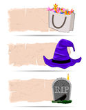 Halloween sticker vector Royalty Free Stock Photo