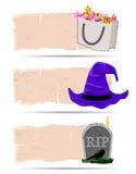 Halloween sticker vector Royalty Free Stock Photo