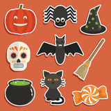 Halloween stickers Royalty Free Stock Photography