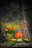 Halloween still life Royalty Free Stock Photo