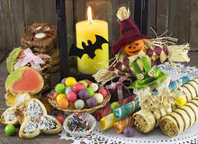 Halloween still life 3 Royalty Free Stock Image