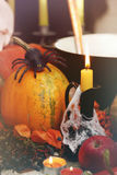 Halloween still life Stock Image