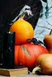 Halloween still life Royalty Free Stock Photo