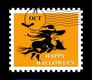 halloween stämpel Royaltyfri Fotografi