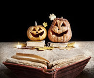 Halloween story Royalty Free Stock Photos