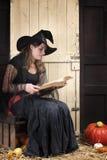 Halloween story telling Stock Image